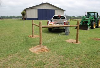 Installing Fence Posts and Keeping Them Secure